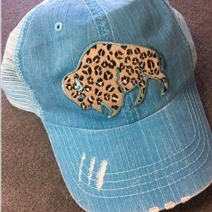 Buffalo Leopard Spots Cotton Twill Trucker Cap
